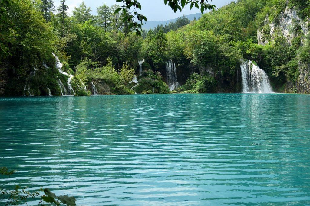 Plitvická jezera - Chorvatsko fotografie vodopády